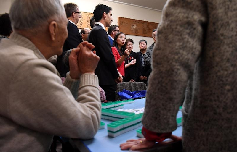Chinese-Australians, who make up almost six percent of the population, have become prime targets for politicians in the recent election (AFP Photo/William WEST)