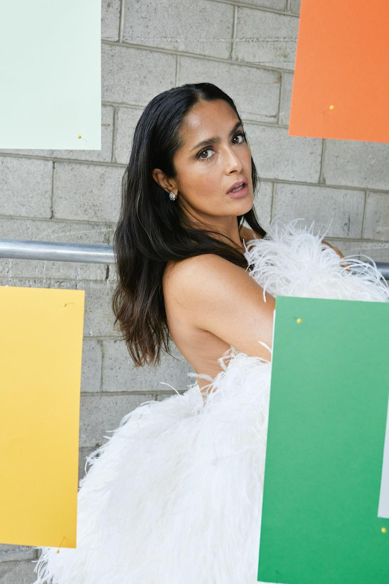 2326d5a0eb Salma Hayek Shares a Throwback Bathing Suit Photo to Satisfy Her Craving  for