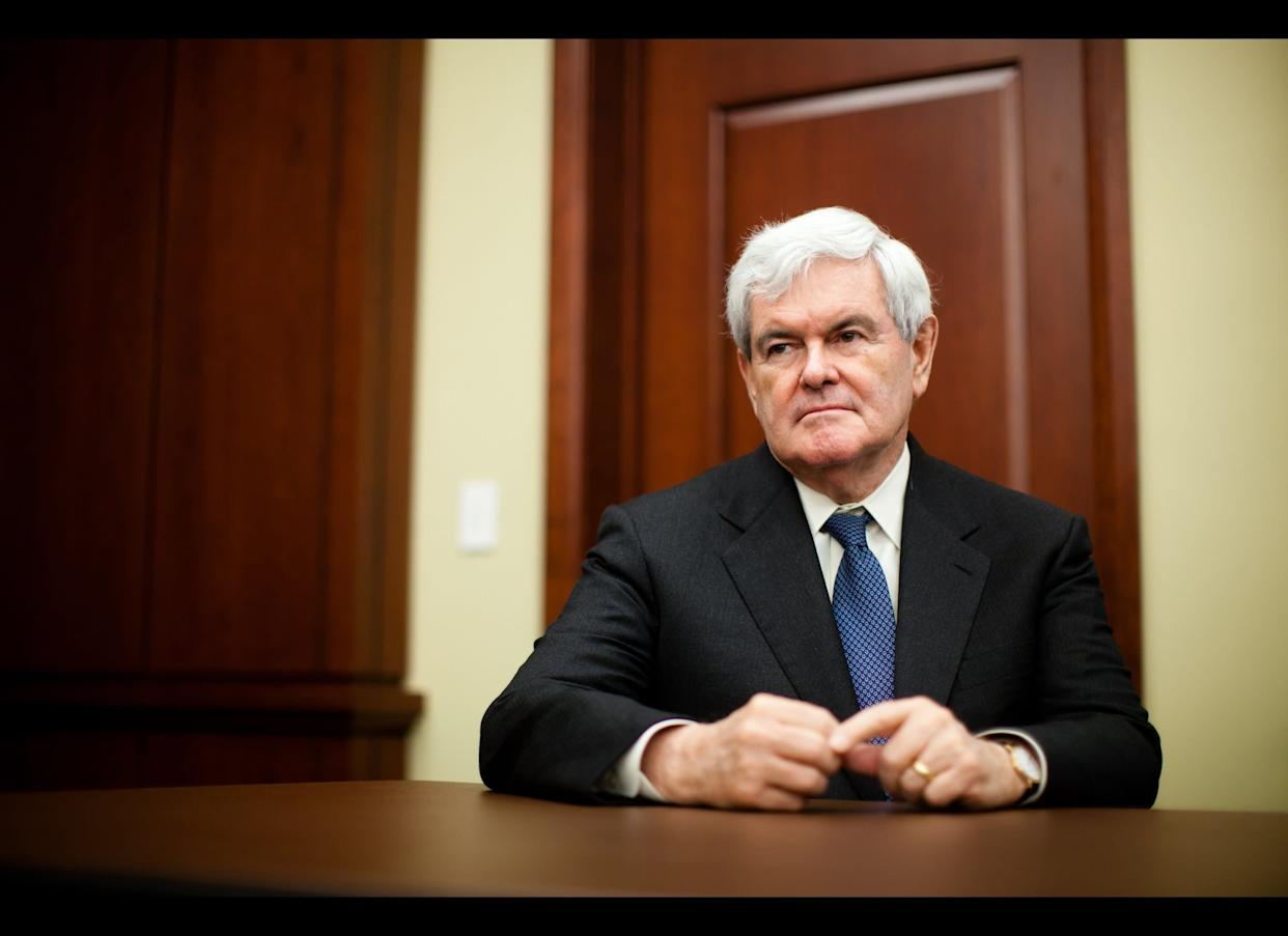 """A former Speaker of the House who previously sat on the Council on Foreign Relations, Gingrich has <a href=""""http://www.esquire.com/blogs/politics/gop-2012-candidates-foreign-policy-5508111"""" rel=""""nofollow noopener"""" target=""""_blank"""" data-ylk=""""slk:called for"""" class=""""link rapid-noclick-resp"""">called for</a> stronger action in Darfur. Still, he has been criticized for his particularly outspoken stance on Sharia Law, on which he <a href=""""http://www.tnr.com/blog/foreign-policy/78426/holy-law-blues-islam-newt-gingrich-terrorism"""" rel=""""nofollow noopener"""" target=""""_blank"""" data-ylk=""""slk:offered"""" class=""""link rapid-noclick-resp"""">offered</a>: <blockquote>""""I believe Sharia is a mortal threat to the survival of freedom in the United States and in the world as we know it. ...I think it's that straightforward and that real.""""</blockquote>"""