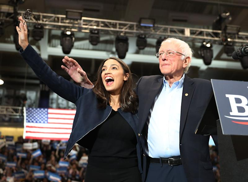 Rep. Alexandria Ocasio-Cortez (D-N.Y) says Medicare for All may not have the votes to pass right away, but pushing for it, as Democratic presidential candidate Sen. Bernie Sanders (I-VT) has,shifts the debate and would lead to a better compromise. (Photo: Joe Raedle via Getty Images)