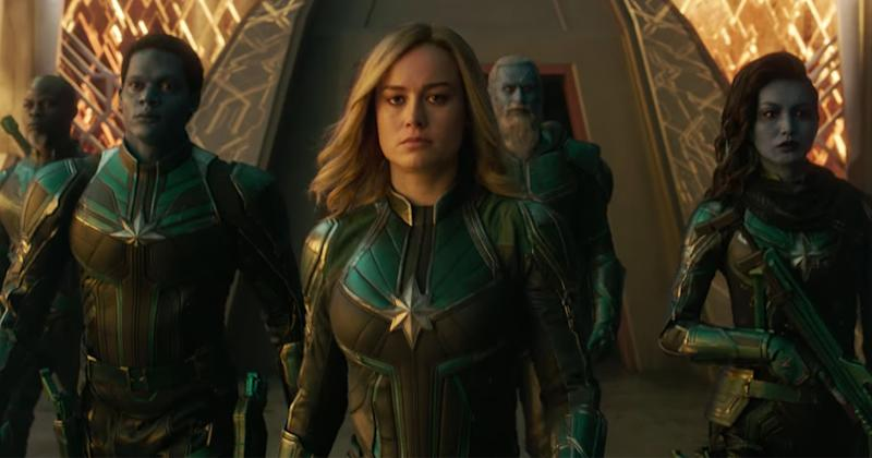 New Captain Marvel footage teases the origin of the Avengers