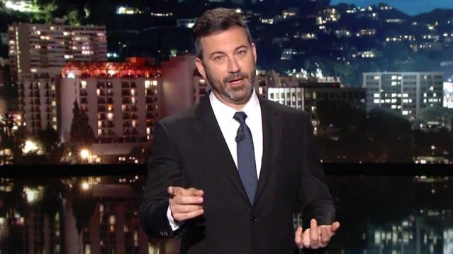 Jimmy Kimmel has a plan to stop President Donald Trump's early-morning tweetstorms.