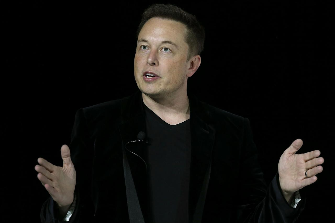 <p>Elon Musk is the charismatic frontman of the Tesla company – but it was actually founded by engineers<span>Martin Eberhard and Marc Tarpenning in Silicon Valley in 2003. It was Musk who drove the first round of financing a year later and stepped up as chairman. (Justin Sullivan/Getty Images)</span> </p>