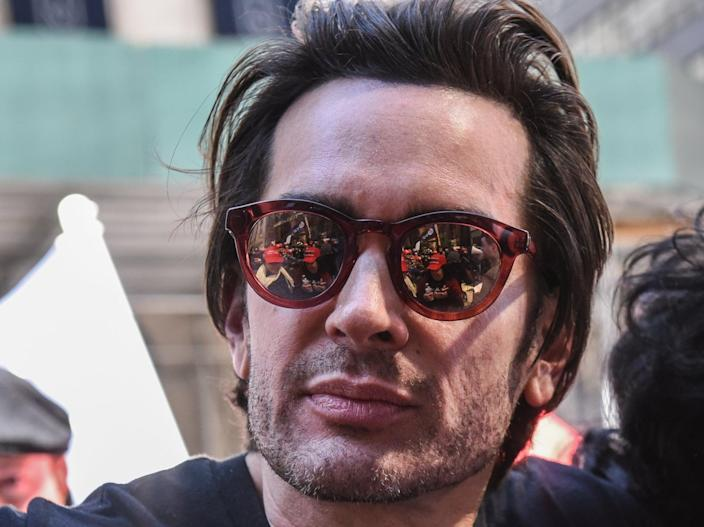 <p>Brandon Straka, founder of the 'WalkAway' movement, attends a rally in support of Donald Trump near Trump Tower on 23 March, 2019</p> (Getty Images)