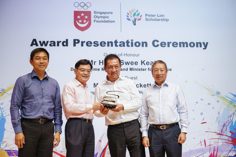 The 2019 SOF-Peter Lim Scholarship award ceremony.