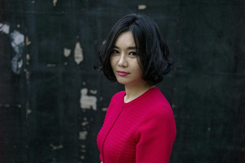 North Korean defector and activist Hyeonseo Lee has become a powerful voice of dissent, laying bare the reality of life under the totalitarian regime in her memoir The Girl with Seven Names (AFP Photo/Fred Dufour)