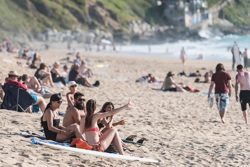 Newquay is a popular destination for a post-GCSE trip - This content is subject to copyright.