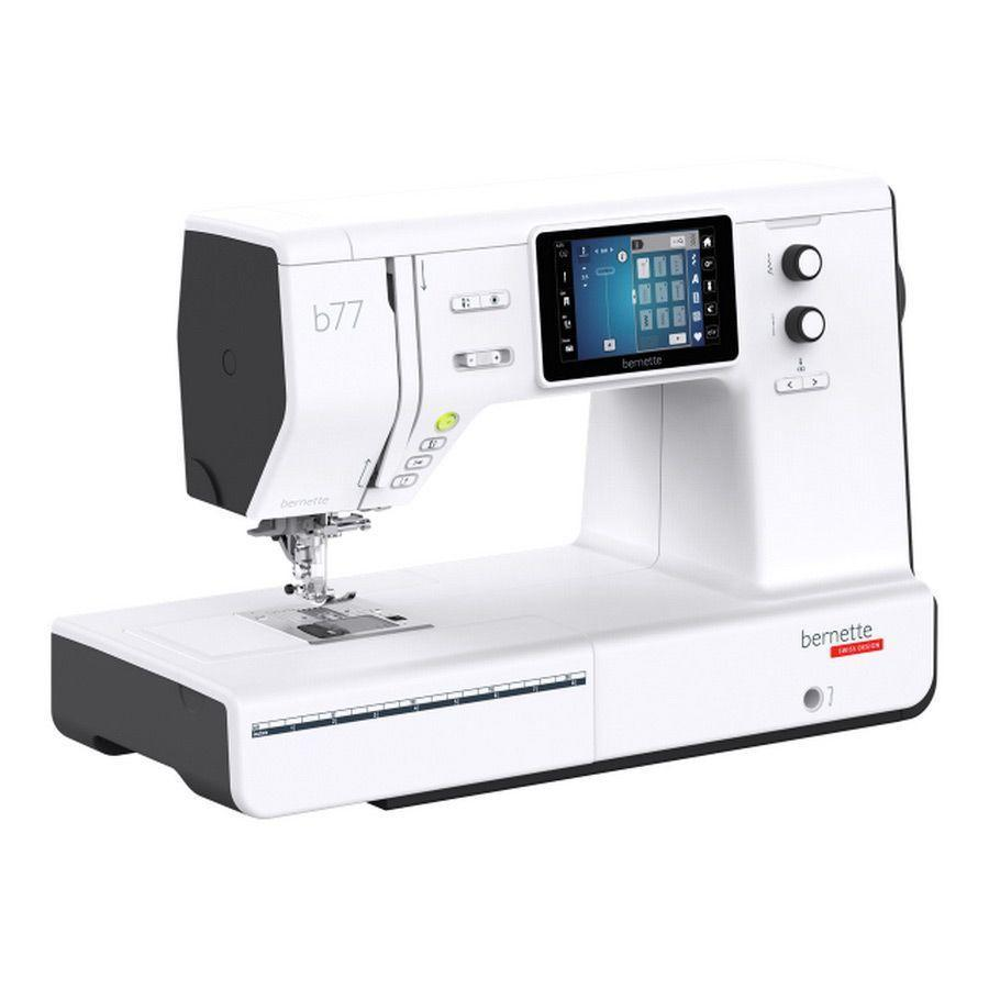 """<p><strong>Bernette </strong></p><p>sewingmachinesplus.com</p><p><strong>$1299.99</strong></p><p><a href=""""https://go.redirectingat.com?id=74968X1596630&url=https%3A%2F%2Fwww.sewingmachinesplus.com%2Fb77.php&sref=https%3A%2F%2Fwww.goodhousekeeping.com%2Fappliances%2Fg16%2Fsewing-machine-reviews%2F"""" rel=""""nofollow noopener"""" target=""""_blank"""" data-ylk=""""slk:Shop Now"""" class=""""link rapid-noclick-resp"""">Shop Now</a></p><p>If you want the absolute top of the line machine or sew for your job, you need a luxury sewing machine that can withstand constant use and offers excellent features for an expert sewer. Look no further than <a href=""""https://www.mybernette.com/en-US/Models.html"""" rel=""""nofollow noopener"""" target=""""_blank"""" data-ylk=""""slk:Bernette"""" class=""""link rapid-noclick-resp"""">Bernette</a> machines. Synonymous with high quality, this luxury machine offers embroidery, quilting, and standard sewing capabilities. With a massive library of 500 stitches, and 17 button hole options, this machine can <strong>create your own combinations by remembering your exact stitch specifications for specific fabrics</strong> in its short and long term memory. Although it is a pricey pick, it's one of the most affordable Bernette models. </p>"""