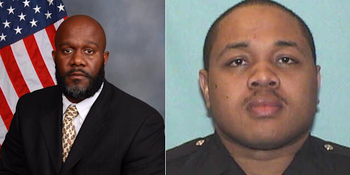 <br>Investigators Mark Gardner and Ivory Streeter were terminated by the Atlanta Police Department for their use of force at a protest Saturday.