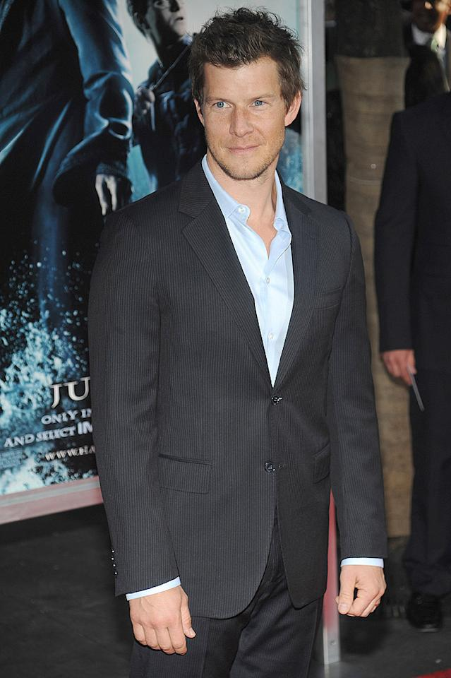 """<a href=""""http://movies.yahoo.com/movie/contributor/1800024780"""">Eric Mabius</a> at the New York premiere of <a href=""""http://movies.yahoo.com/movie/1809791044/info"""">Harry Potter and the Half-Blood Prince</a> - 07/09/2009"""