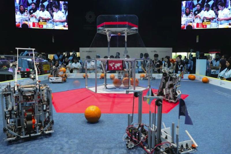 World's Largest Robotics Contest Held in Dubai with Participants from 190 Nations