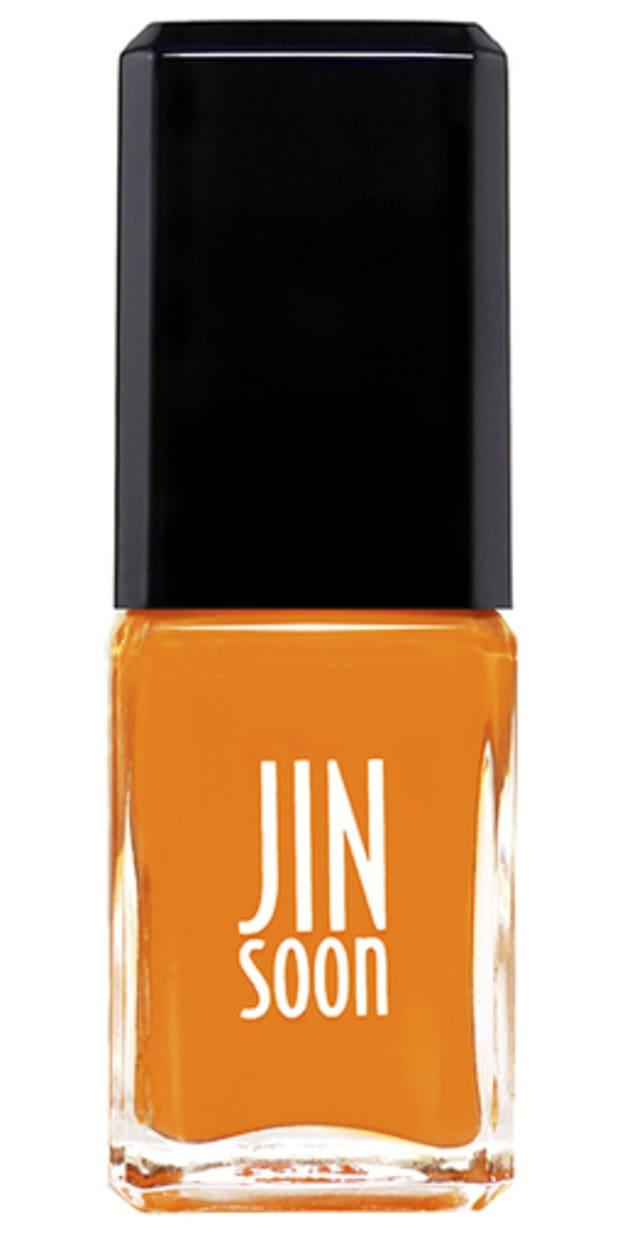 """<p>Jin Soon Nail Polish in Hope, $18, <a href=""""https://shop-links.co/1668477275481344039"""" rel=""""nofollow noopener"""" target=""""_blank"""" data-ylk=""""slk:available here"""" class=""""link rapid-noclick-resp"""">available here</a>.</p>"""