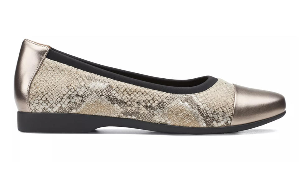 No closet is complete without a comfy pair of flats. (Photo: Clarks)