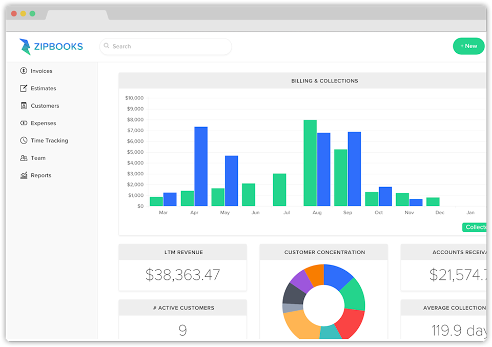 Zipbooks Launches Free Accounting Software For Small Businesses