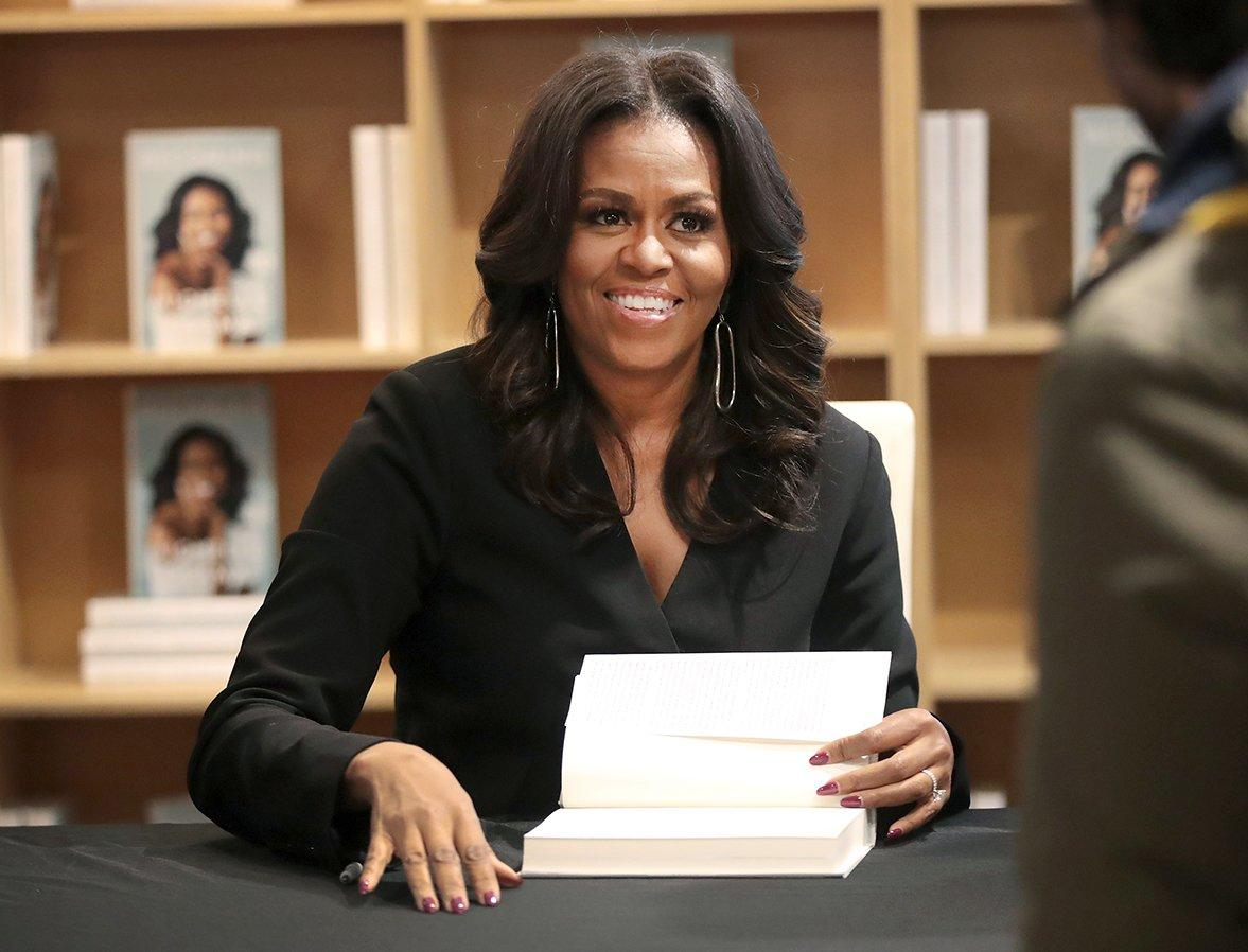 "Mrs. Obama was ""thrilled"" to learn that she earned her <a href=""https://people.com/politics/former-first-lady-michelle-obama-just-earned-her-first-grammy-nomination-for-her-book-becoming/"">first Grammy nomination</a> for the audiobook version of her memoir, which she narrated.  ""So thrilled to receive a #GRAMMYs nomination!"" Obama <a href=""https://twitter.com/michelleobama/status/1197250209459388418?s=21"">tweeted</a> on Nov. 20, 2019. ""This past year has been such a meaningful, exhilarating ride. I've loved hearing your stories and continuing down the road of becoming together. Thank you for every ounce of love and support you've shared so generously.""  Does this mean we're going to get a FLOTUS moment at the Grammys? Fingers crossed."