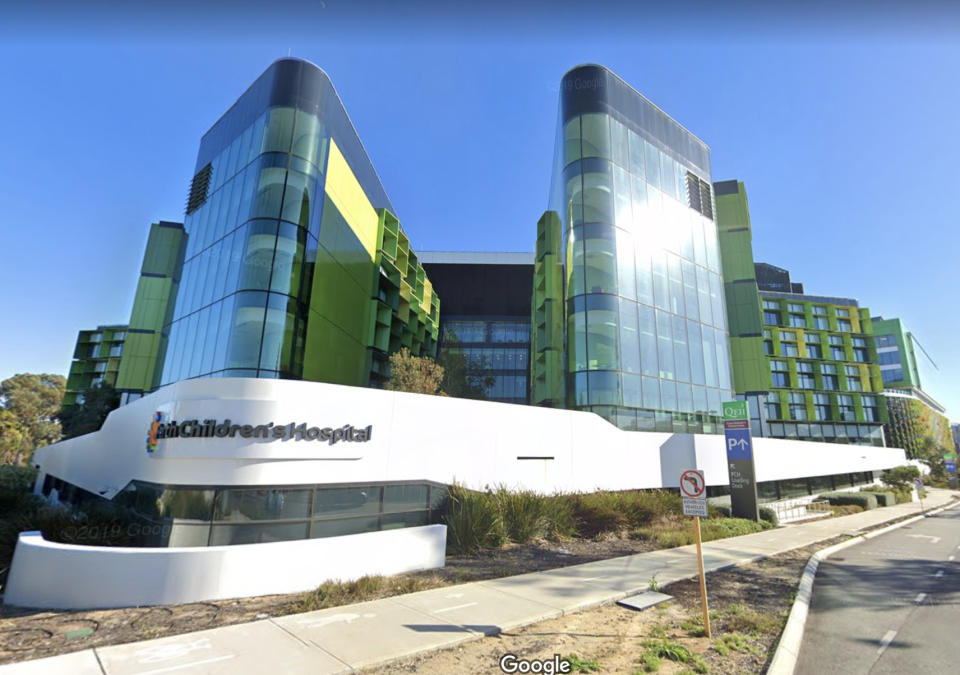 Pictured is the Perth Children's Hospital. Source: GoogleMaps