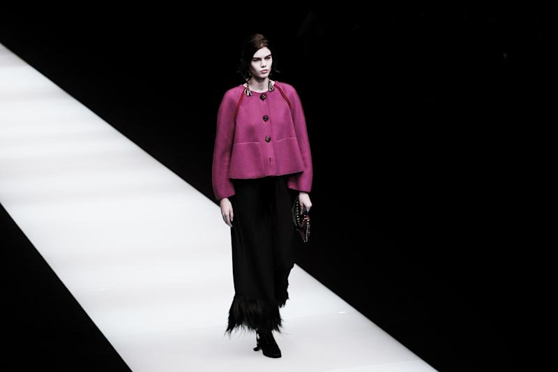 Giorgio Armani Autumn/Winter 2018/2019 collection, Milan Fashion Week (Getty Images): Getty Images