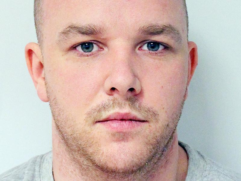 Derry McCann, who has admitted to the 'terrifying, violent and prolonged' rape of a stranger hours before he was due to marry his pregnant partner: PA