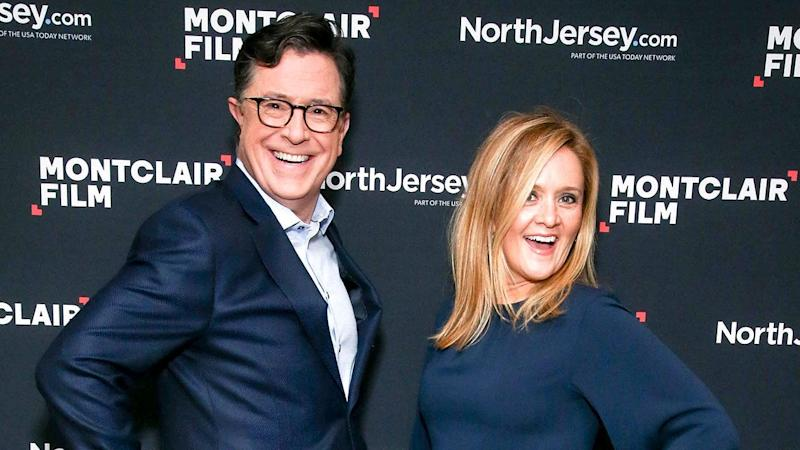 While politics were on 'The Late Show' host's mind during a fundraiser in Newark, New Jersey, other stars relished in holiday activities and charitable contributions -- check out all of the A-list events!
