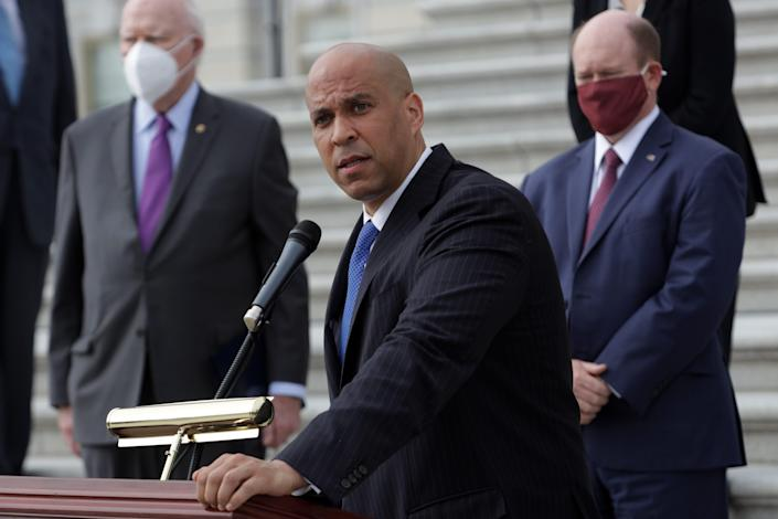 U.S. Sen. Cory Booker, D-N.J., wants to add debt relief for farmers to the Democrats' $3.5 trillion spending bill.
