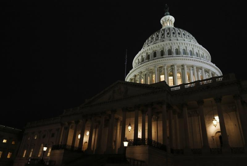 The U.S. Capitol building is seen before U.S. President Barack Obama delivers his State of the Union address in front of the U.S. Congress in Washington