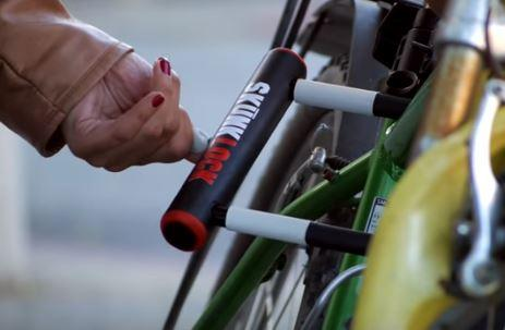 SkunkLock is a genius invention for bike owners everywhere