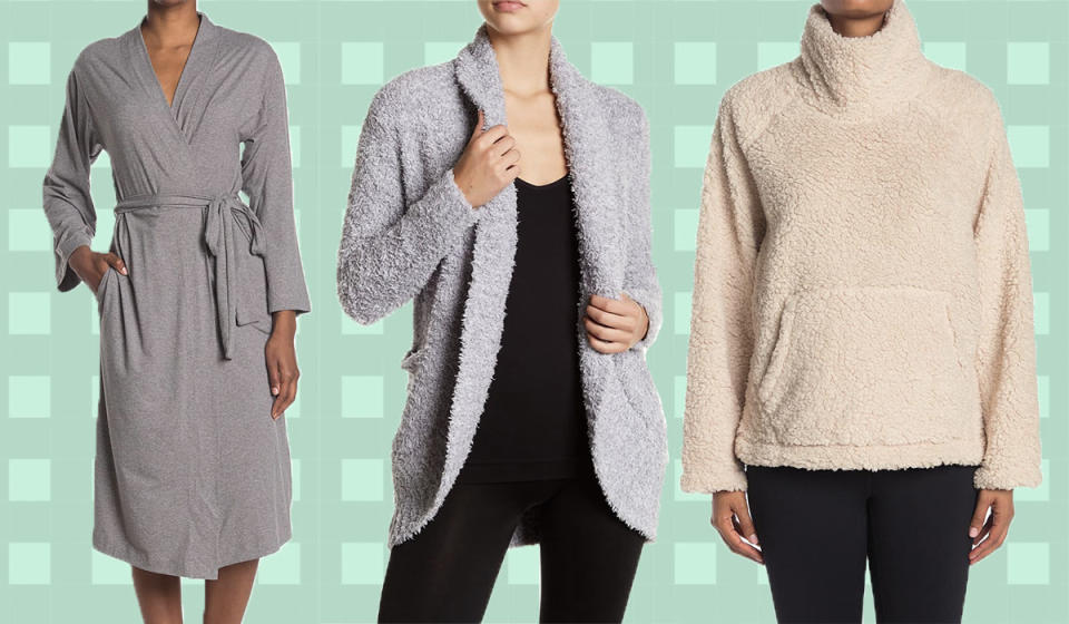 Score up to 60 percent off cozy finds. (Photo: Nordstrom Rack)