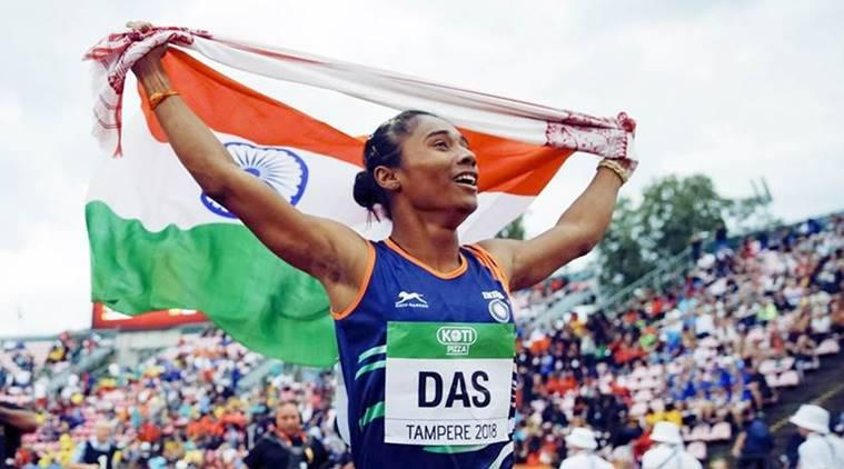 hima das, hima das olympics, hima das race, indian athletics, tokyo 2020, hima das tokyo 2020, hima das best time, mohammad anas, indian sports news, hima das records, india athletics records