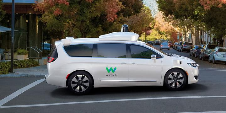 2017 Chrysler Pacifica Hybrid minivan Waymo Self-driving Test Fleet