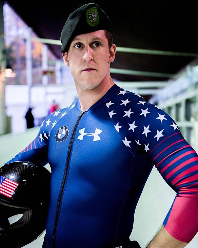 <p>Weber is an active duty Green Beret who is making his Olympic debut in PyeongChang. </p>