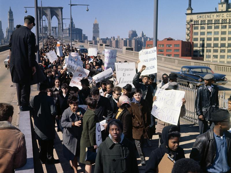 civil rights protest 1960s