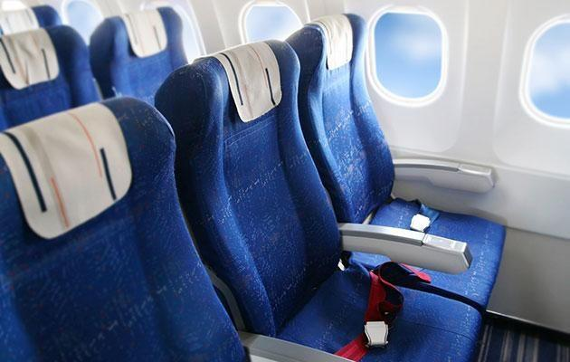 Where is the least bumpy part of a plane? Photo: Getty