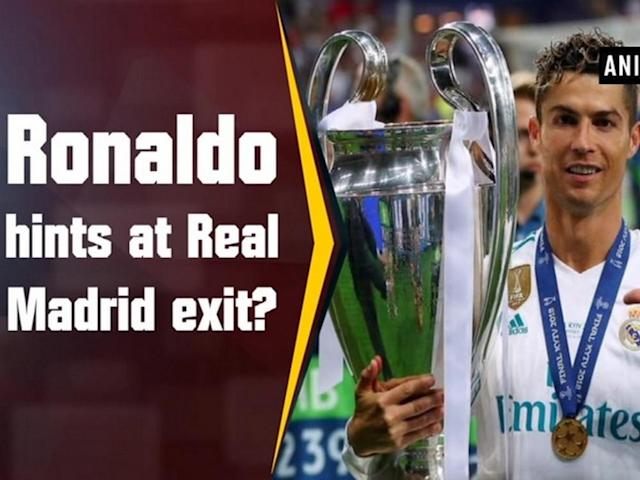 "After clinching a third Champions League trophy in three years, legendary footballer Cristiano Ronaldo cast doubt over his future with Real Madrid. ""In the coming days, there'll be an answer about my future. It has been very nice playing for Real Madrid,"" Fox News quoted Ronaldo as saying post the match. He, however, then tried to clarify his comments in a subsequent interview. ""I am not saying I am going, in the coming days we will see. They took something out of context, that I should not have said. I did not know it would be so strong. I prefer not to talk and to enjoy this lovely moment to the maximum,"" ESPN quoted him as saying. Earlier, Real Madrid won the final against Liverpool 3-1 to claim their third successive and 13th Union of European Football Associations (UEFA) title at the Olimpiyskiy National Sports Complex. The victory was Madrid's third in a row in the tournament, a feat unseen in the competition since Bayern Munich won three consecutive European Cups from 1974 - 1976."