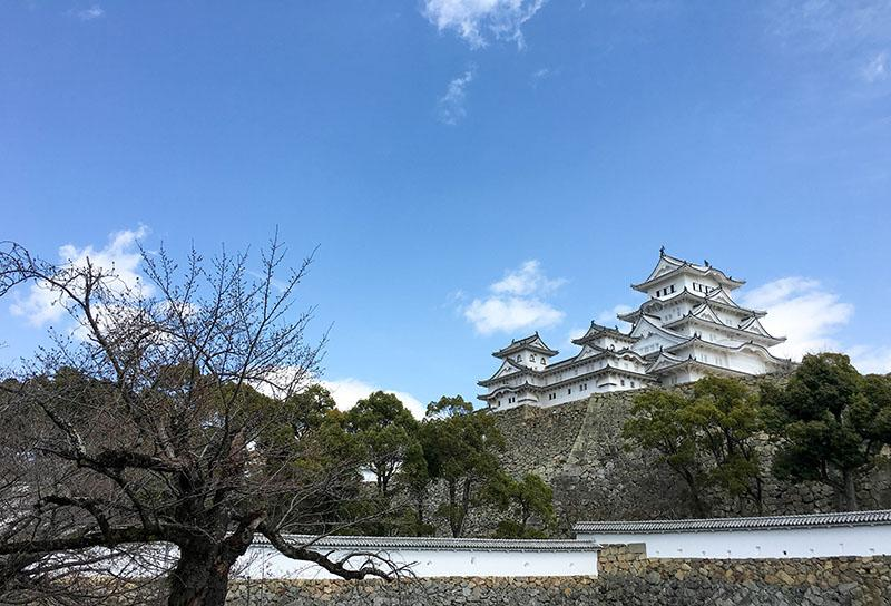 Himeji Castle is one of the finest castles to visit in Japan.