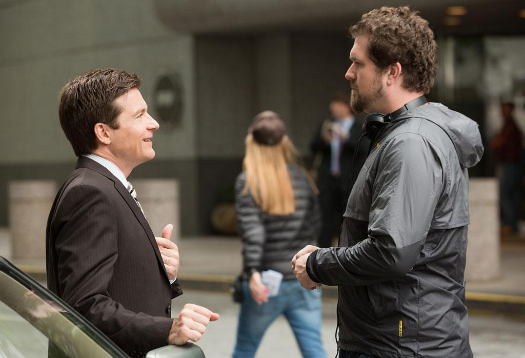 "Jason Bateman and director Seth Gordon on the set of Universal Pictures' ""Identity Thief"" - 2013"