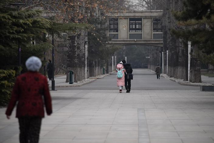 While many people are still scared to speak out, #MeToo has made huge strides in raising awareness in China (AFP Photo/WANG ZHAO)