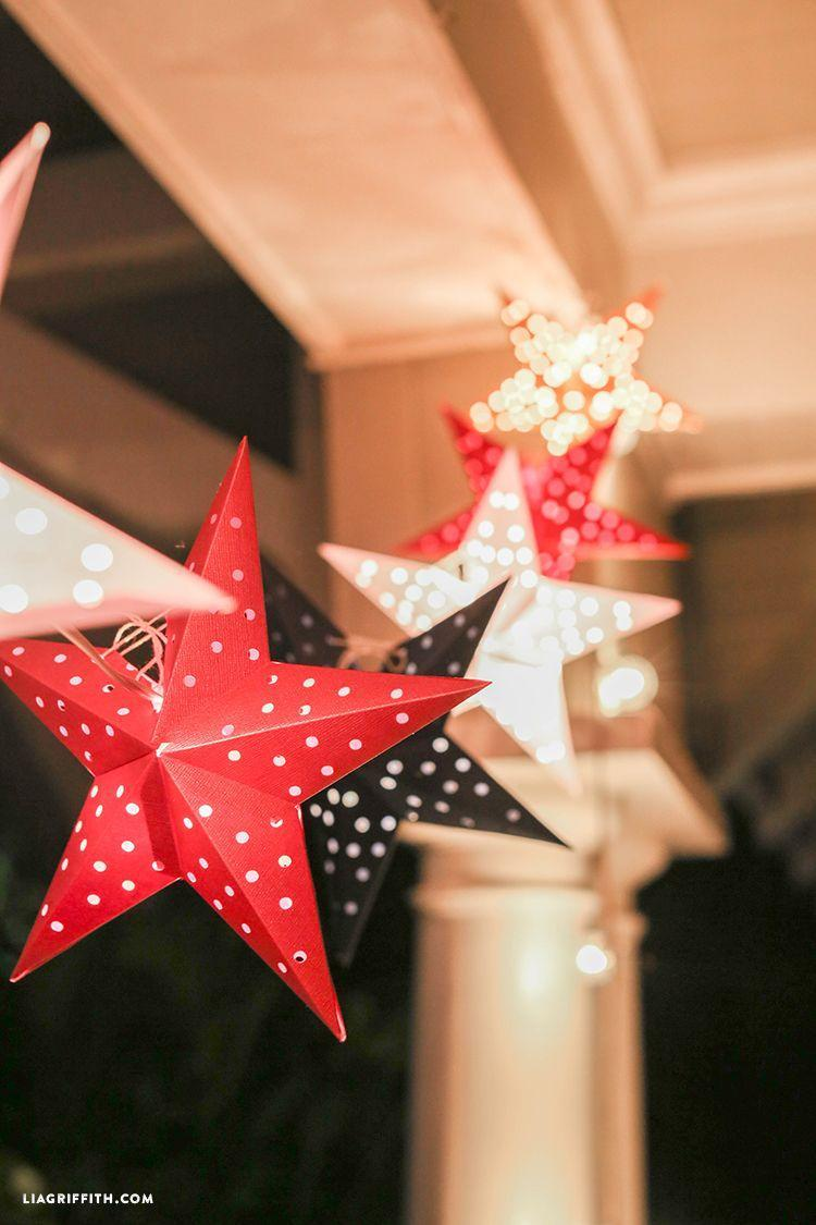 """<p>Though you can make these paper stars by hand, a cutting machine like the Cricut makes the project a breeze. </p><p><a href=""""https://go.redirectingat.com?id=74968X1596630&url=https%3A%2F%2Fliagriffith.com%2Fpaper-star-lights-garland%2F&sref=https%3A%2F%2Fwww.oprahdaily.com%2Flife%2Fg37499128%2Fdiy-christmas-garland-ideas%2F"""" rel=""""nofollow noopener"""" target=""""_blank"""" data-ylk=""""slk:Get the tutorial."""" class=""""link rapid-noclick-resp"""">Get the tutorial.</a></p><p><a class=""""link rapid-noclick-resp"""" href=""""https://www.amazon.com/Neenah-Bright-Cardstock-Sheets-90905/dp/B003A2I5T8?tag=syn-yahoo-20&ascsubtag=%5Bartid%7C10072.g.37499128%5Bsrc%7Cyahoo-us"""" rel=""""nofollow noopener"""" target=""""_blank"""" data-ylk=""""slk:SHOP CARDSTOCK"""">SHOP CARDSTOCK</a></p>"""