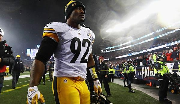 NFL: Steelers entlassen All-Time-Sacks-Leader James Harrison