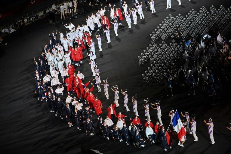 With the Tokyo Games drawing to end end, eyes will turn to Paris 2024 (AFP/CHARLY TRIBALLEAU)