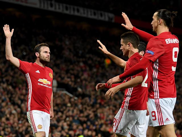 Juan Mata put an end to United's malaise by breaking the deadlock in the 70th minute: Getty