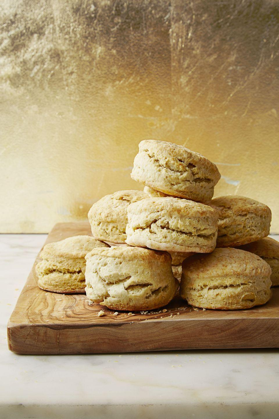 "<p>Don't even think about not making biscuits for your brunch. </p><p><em><a href=""https://www.goodhousekeeping.com/food-recipes/a37457/best-ever-buttermilk-biscuits-recipe/"" rel=""nofollow noopener"" target=""_blank"" data-ylk=""slk:Get the recipe for Best-Ever Buttermilk Biscuits »"" class=""link rapid-noclick-resp"">Get the recipe for Best-Ever Buttermilk Biscuits »</a></em></p>"