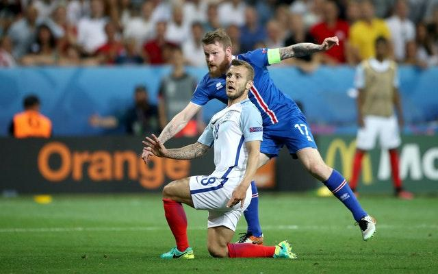 Jack Wilshere replaced Dier in Nice but has not played for England since.