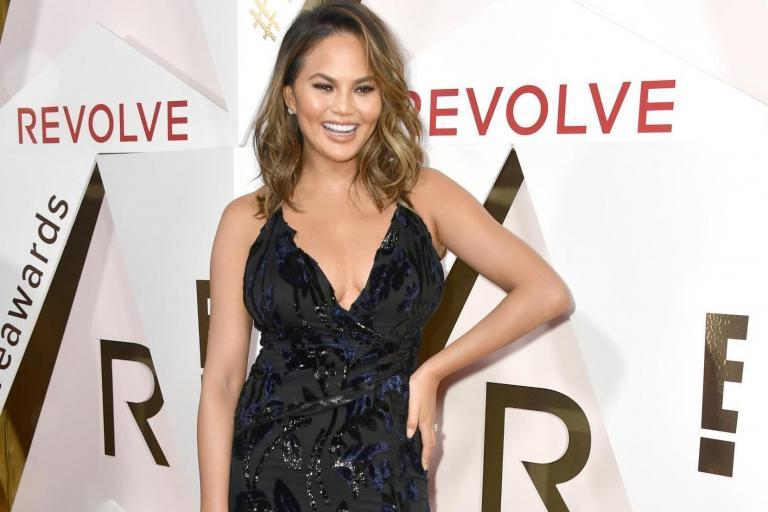 Chrissy Teigen mocks college admissions scandal with photoshopped family pictures