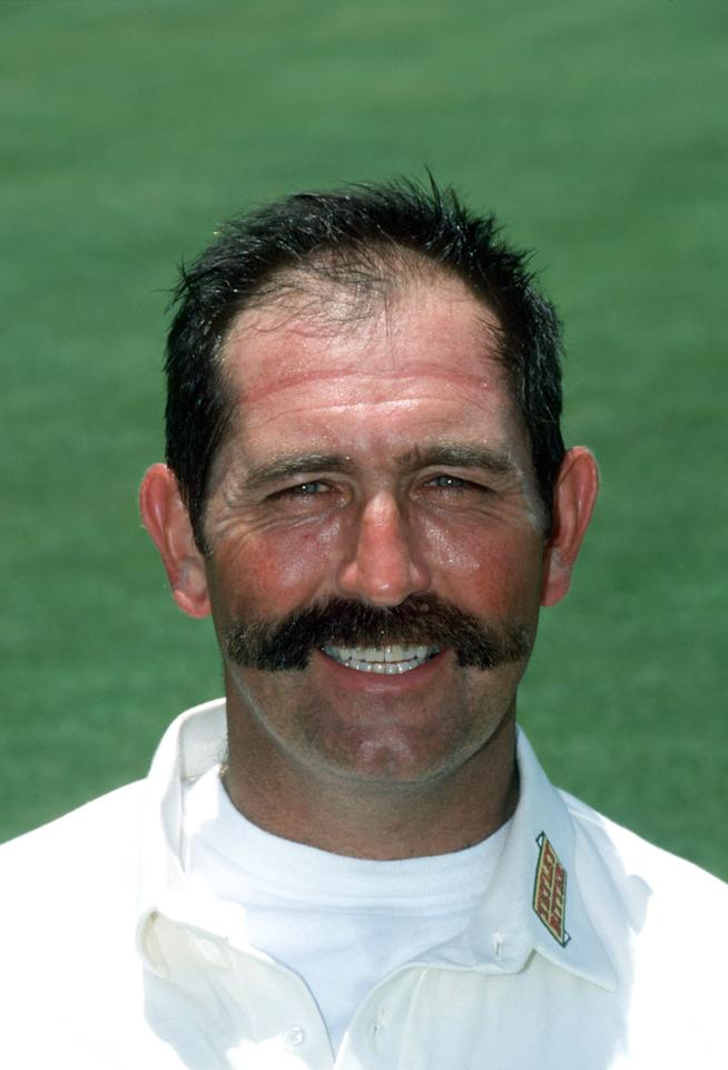 DEC 1994:  PORTRAIT OF GRAHAM GOOCH OF THE ENGLAND CRICKET TEAM DURING THE 94-95 ASHES TOUR OF AUSTRALIA. Mandatory Credit: Ben Radford/ALLSPORT
