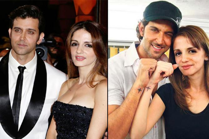 Hrithik Roshan and Sussanne Khan