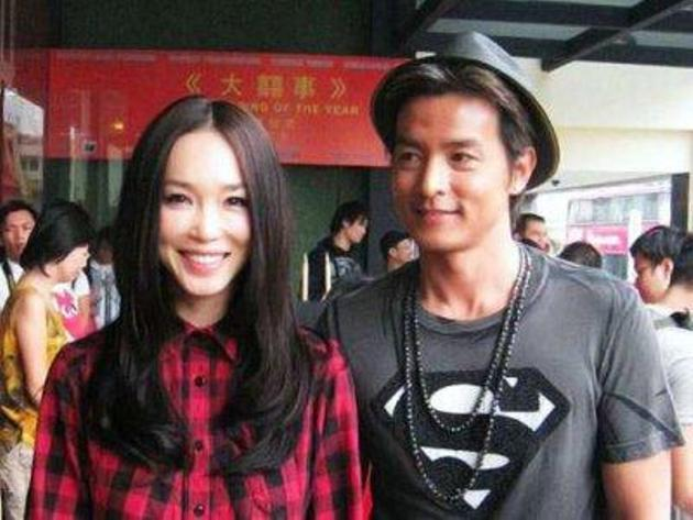 Christopher Lee and Fann Wong are expecting their first baby. (Cinema Online photo)