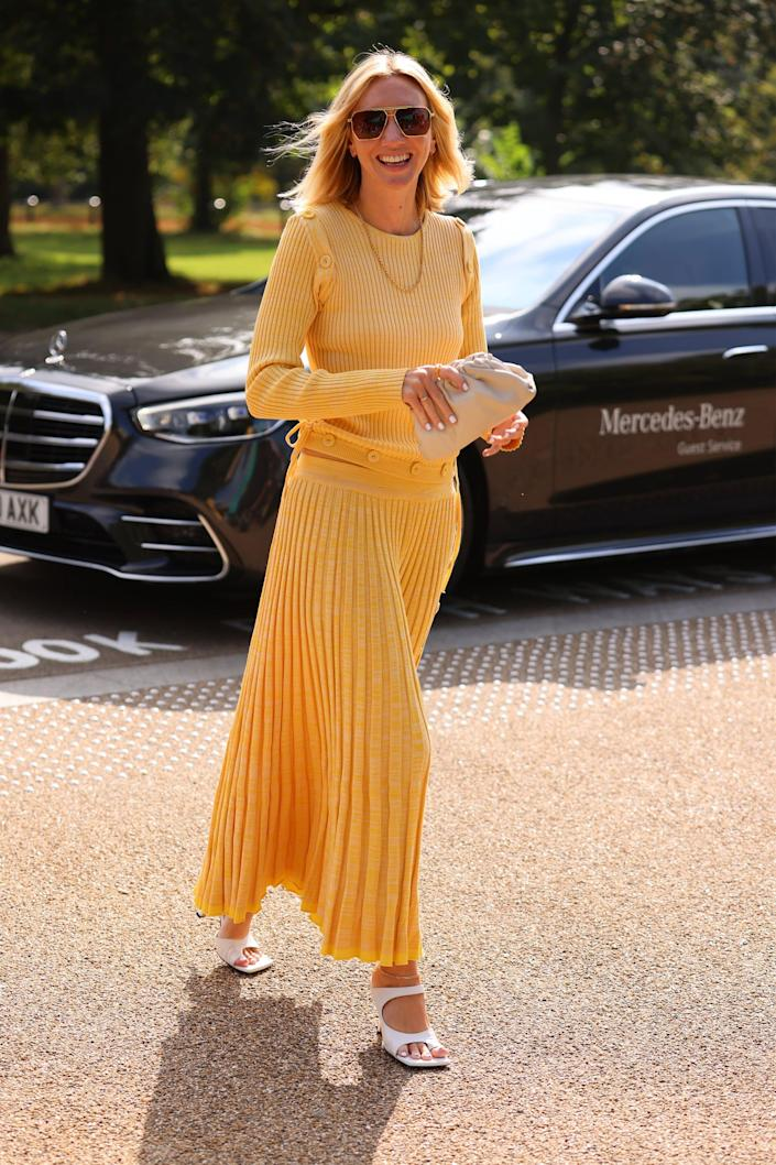 <p>Easy knits in lemony-hue feel understated but unmissable, too. </p>