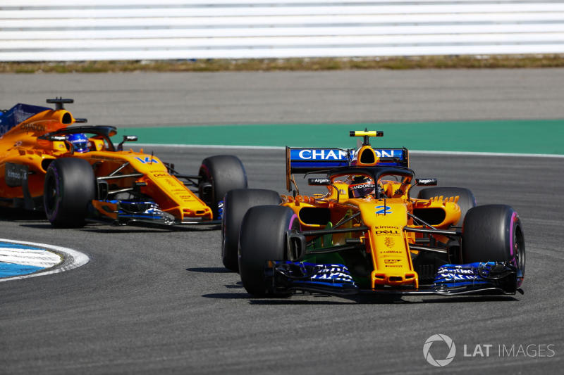 McLaren: Vandoorne needs to beat Alonso more