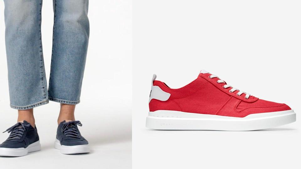 You can shop for men's sneakers during this dynamic sales event.