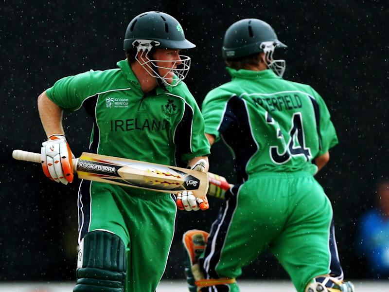 Morgan played 23 one-day internationals for Ireland before switching his allegiance to England (Getty)
